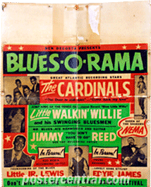 Jimmy Reed concert poster
