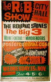 vintage uk concert posters of the 1960s