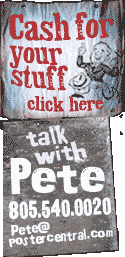 cash for your stuff sgn, talk with Pete sign