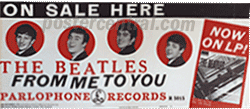 Beatles from me to you promo poster