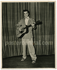 Elvis presley vintage photo