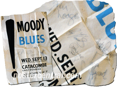 moody blues' autographs