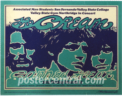 the crem and canned heat poster