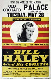 bill haley concert kjposter