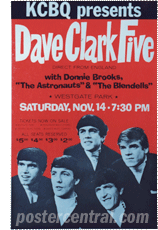 Dave Clark five poster
