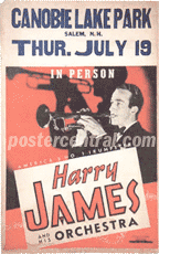 Harry James Poster