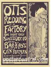 Otis redding and the grim reapers poster