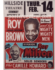 roy brown roy milton poster