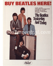 buy Beatles here promo poster