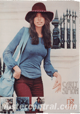 Carly Simon promo poster
